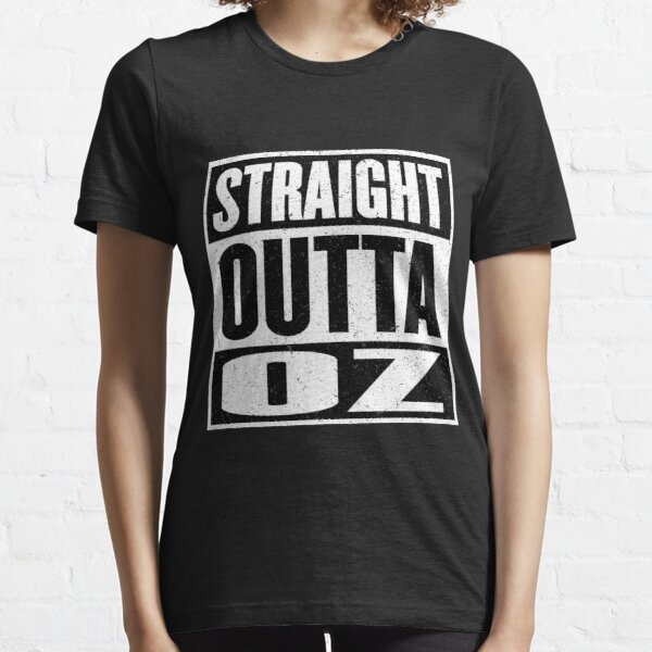 Straight Outta Oz - Dorothy & Toto in the Hood - Movie Mashup - Not in Kansas Anymore Essential T-Shirt