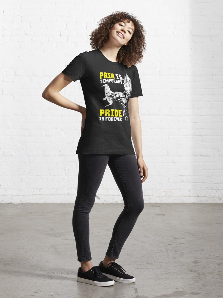 Alternate view of Pain Is Temporary, Pride Is Forever Essential T-Shirt