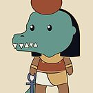 Tiny Sobek by Aakheperure