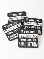 if you are reading this you are in simulation Coasters