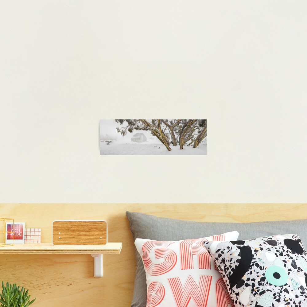 Blowhard Hut, Mt Hotham, Victoria, Australia Photographic Print