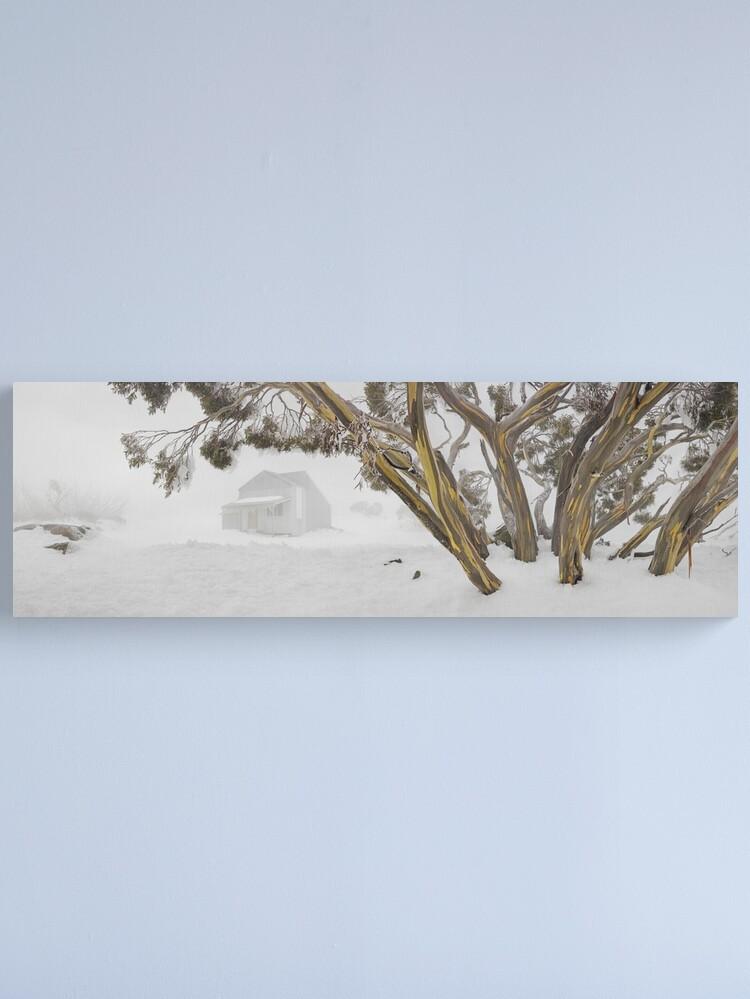 Alternate view of Blowhard Hut, Mt Hotham, Victoria, Australia Canvas Print
