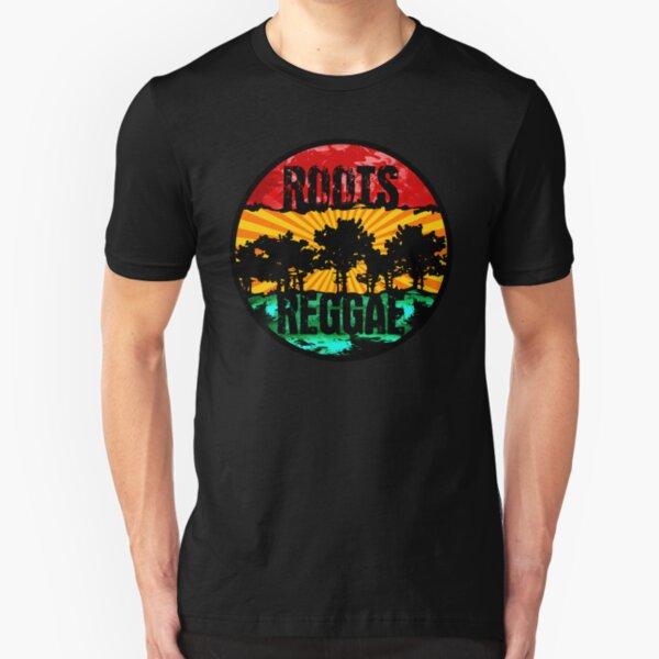 roots - reggae Slim Fit T-Shirt