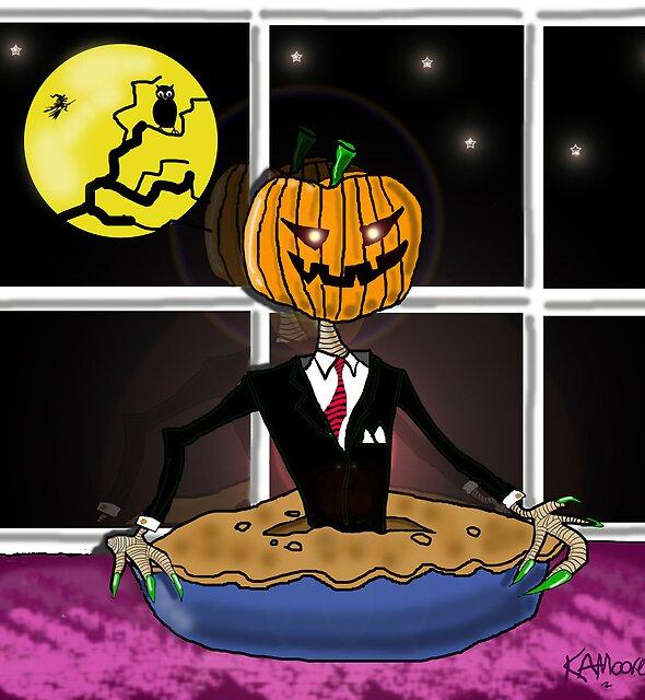 Pumpkin Pie by Kev Moore