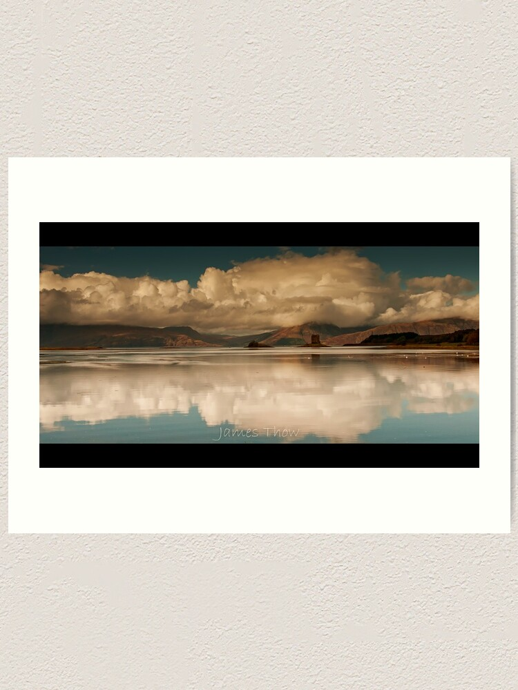 Alternate view of Castle Reflections Art Print