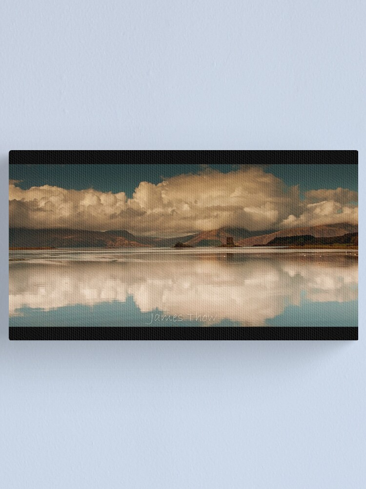 Alternate view of Castle Reflections Canvas Print