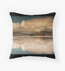 Castle Reflections Throw Pillow