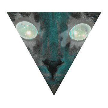 Triangle Cat by Graphox