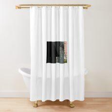 Triangulate Shower Curtain