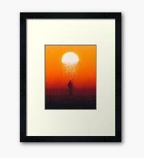 Moonfall Framed Print