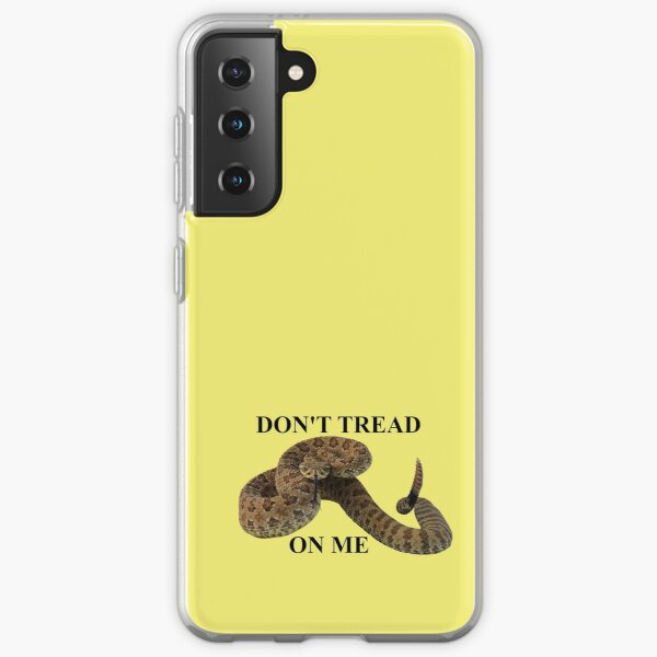 Dont Tread on Me (black lettering) Samsung Galaxy Soft Case