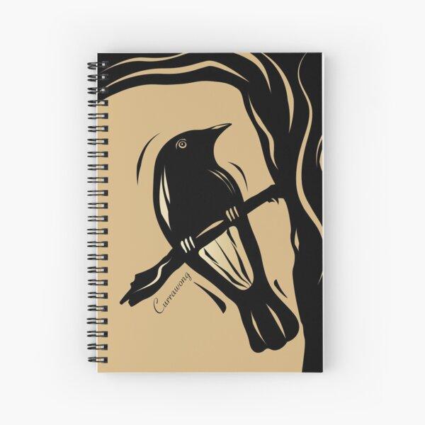 The Currawong Spiral Notebook