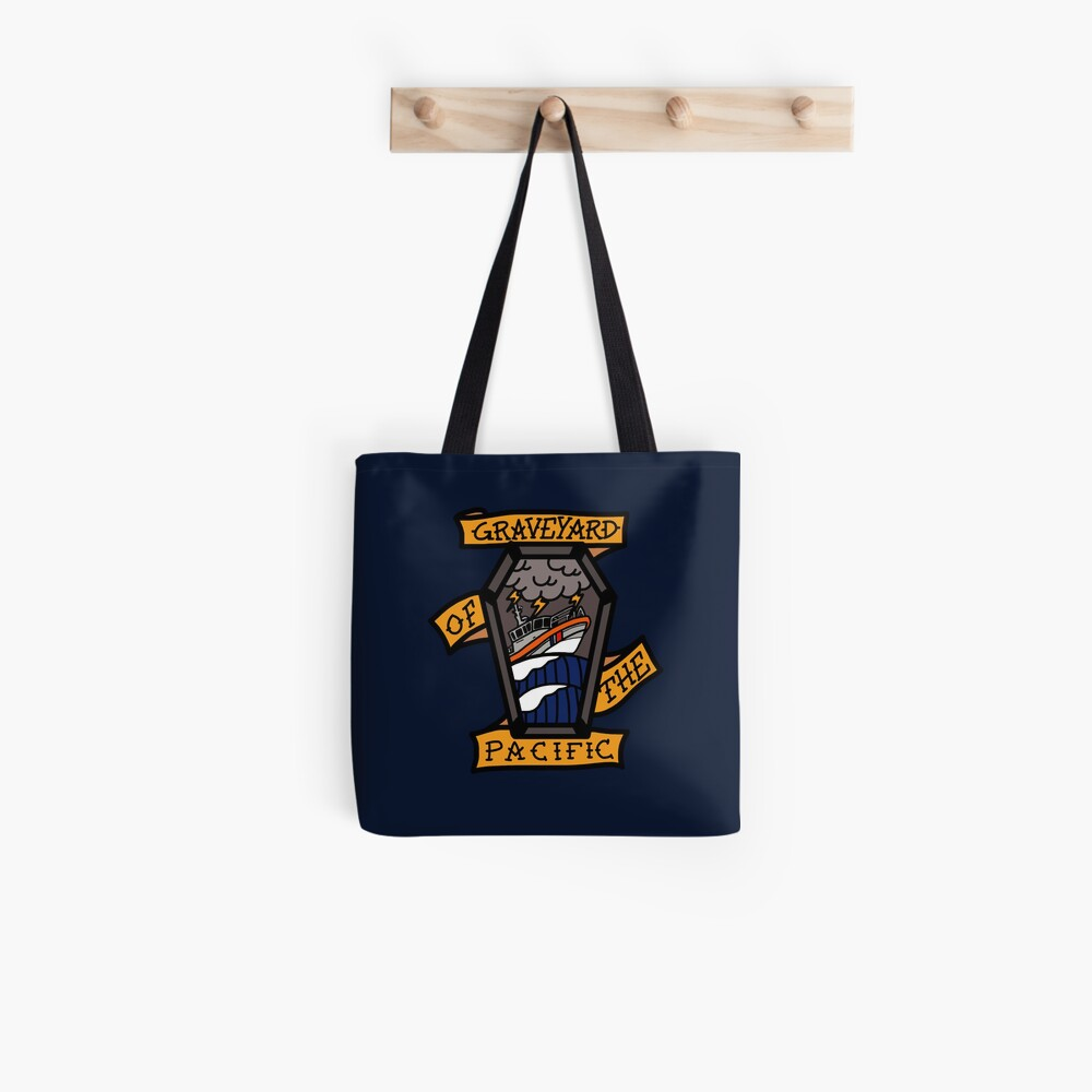 Graveyard of the Pacific - 45 RB-M Tote Bag