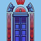 Art Deco TARDIS by FrederickJay