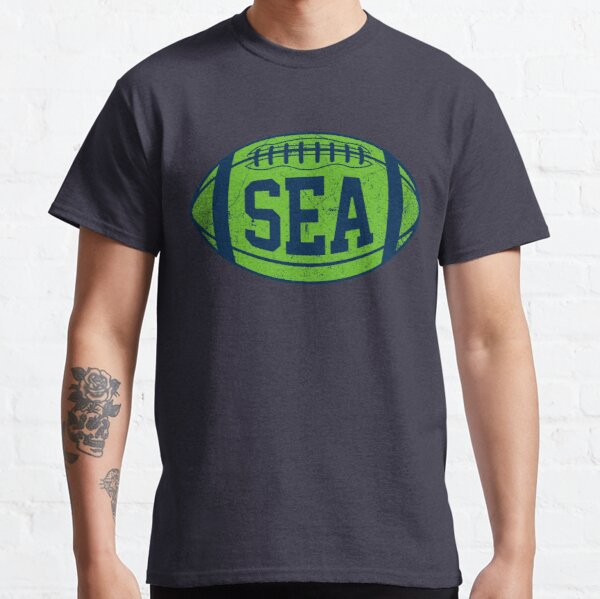 SEA Retro Football - Navy Classic T-Shirt