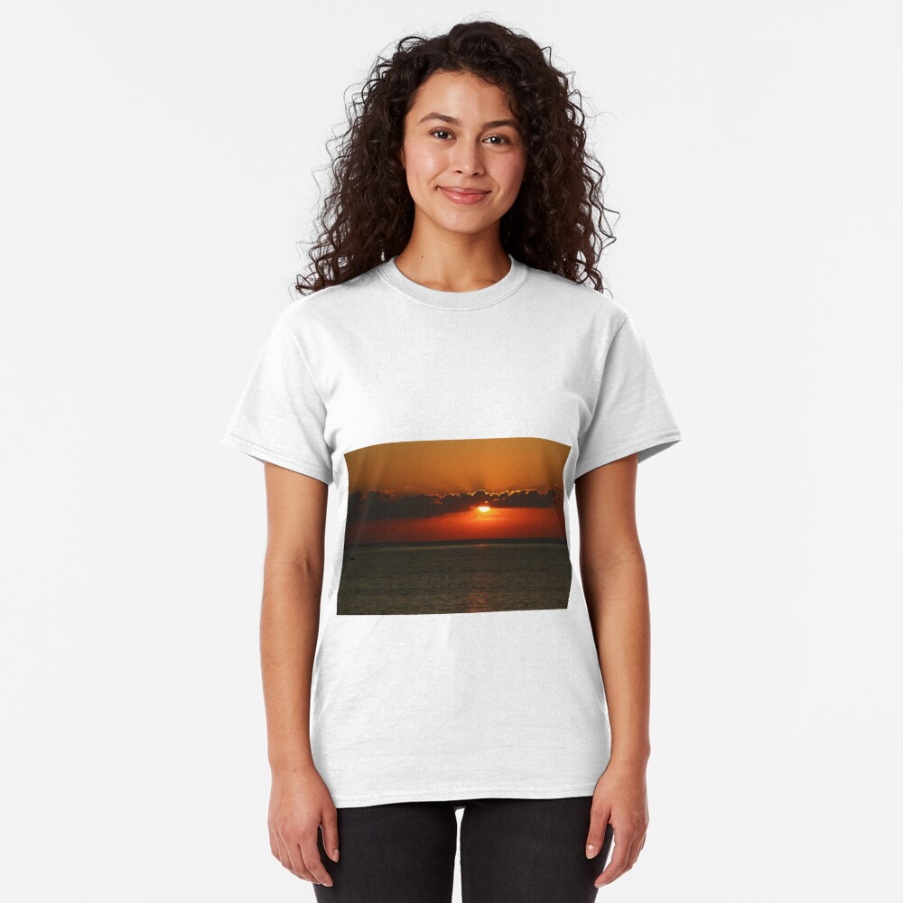 Front Seat to a Lake Ontario Sunset Classic T-Shirt