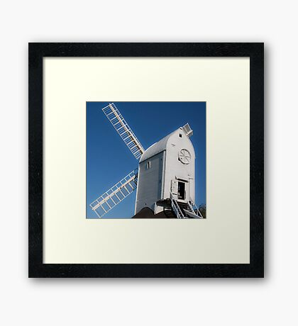 south downs mill Framed Print