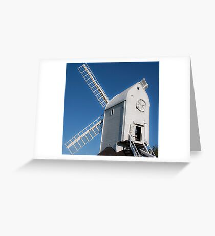 south downs mill Greeting Card