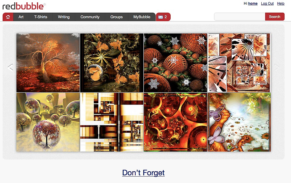 Autumn Beauties - 12 October 2010 by The RedBubble Homepage