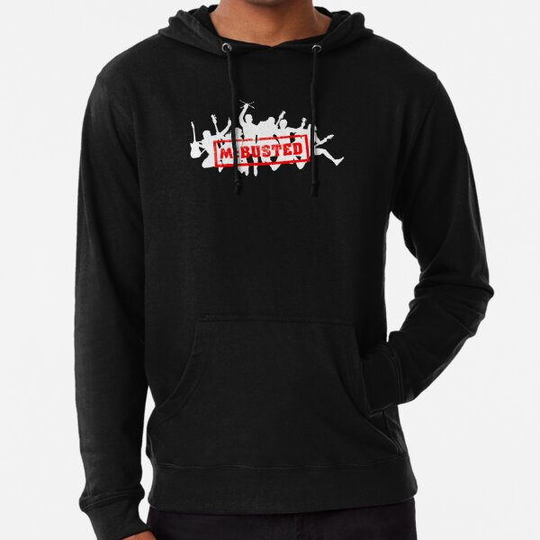 Mc Busted Tour  Lightweight Hoodie