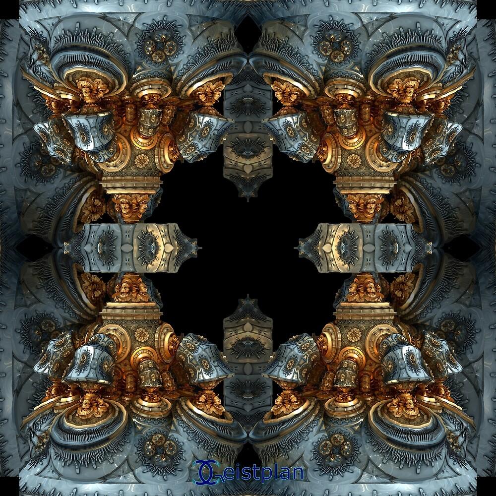 Mandala Steampunk  von Geistplan