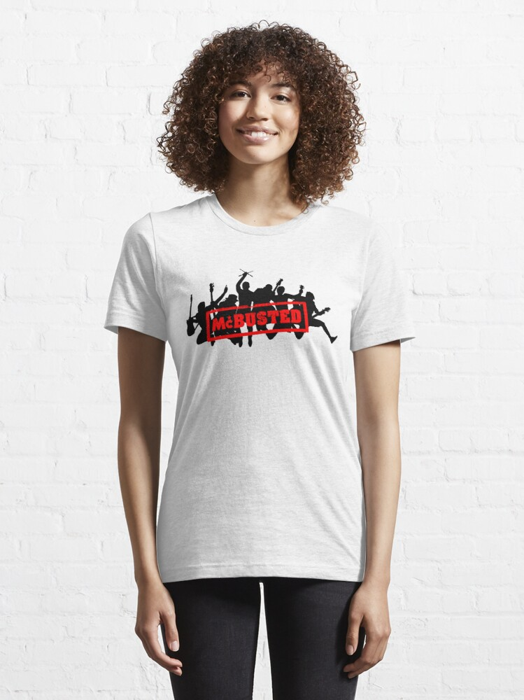 Alternate view of Mc Busted Tour  Essential T-Shirt