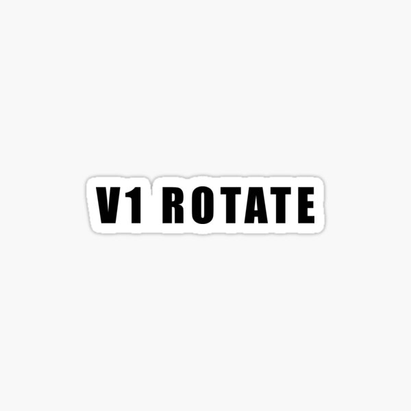V1 ROTATE Sticker