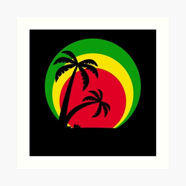 Reggae Art Print