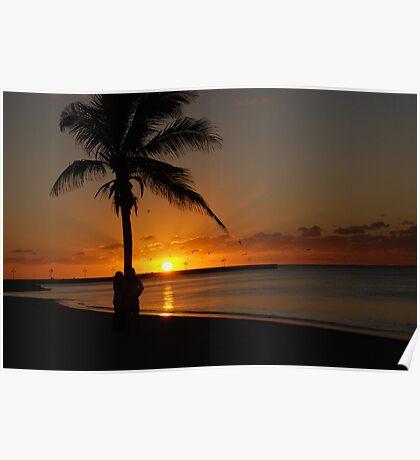 Sunrise in Key West Florida Poster