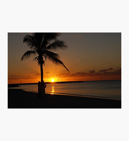 Sunrise in Key West Florida Photographic Print
