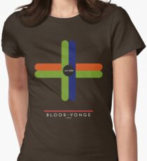 BLOOR-YONGE 1966 Womens Fitted T-Shirt