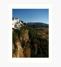 Andalusian Dusk, Ronda, Spain 2015 Art Print