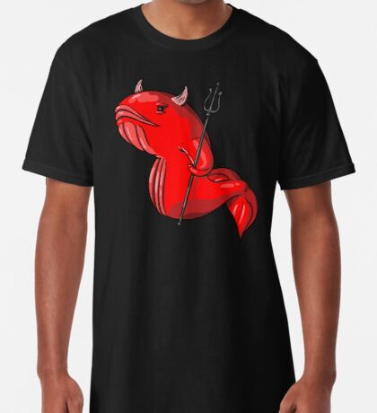 Demon Whale Long T-Shirt
