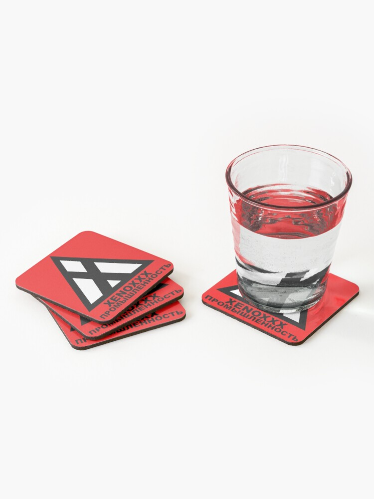 Alternate view of Xenoxxx Industries Coasters (Set of 4)