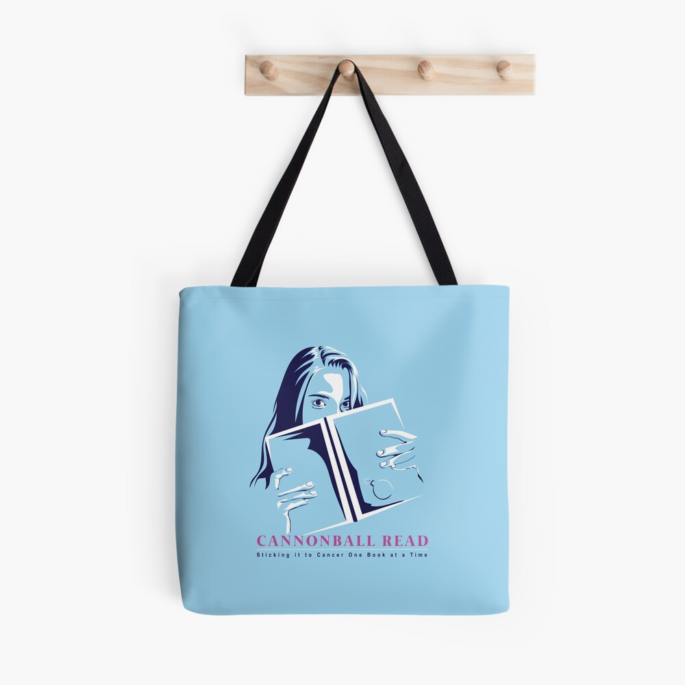 Sticking it to Cancer One Book at a Time by Lisa Bee Tote Bag