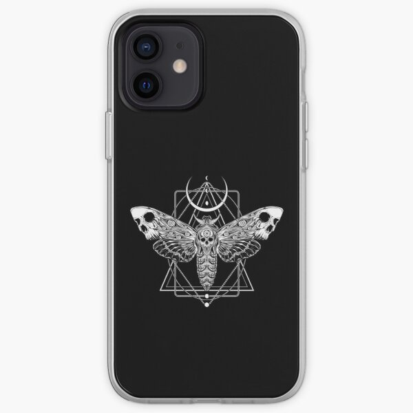 Surreal Death Moth iPhone Soft Case
