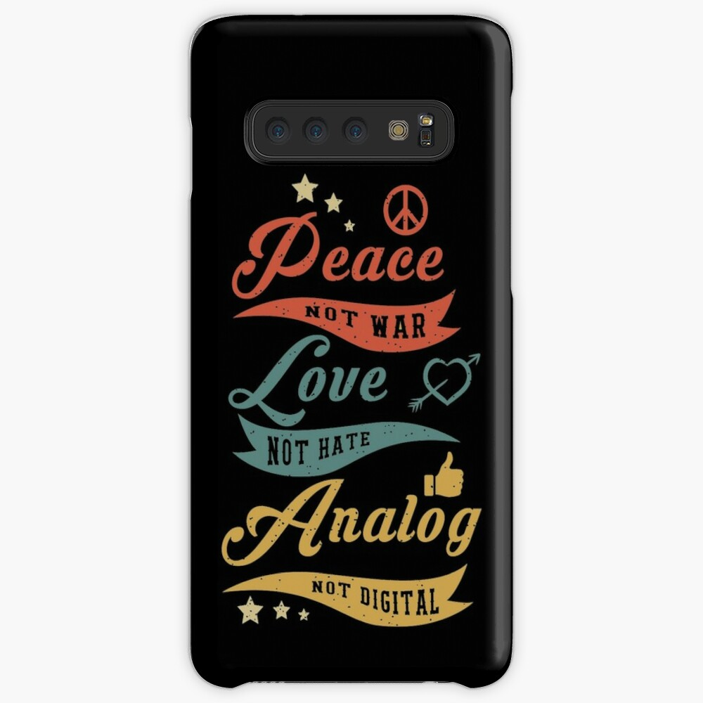 Analog Not Digital Case & Skin for Samsung Galaxy