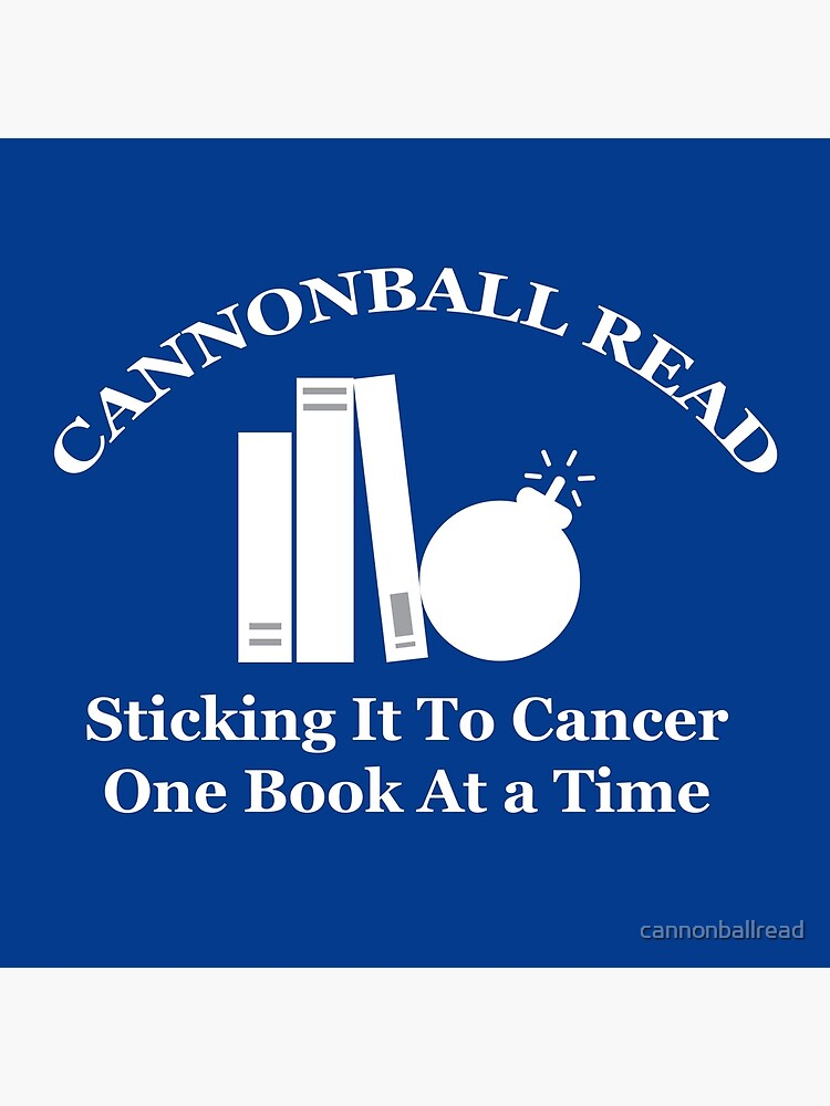 Cannonball Read Logo In White Tote Bag By Cannonballread Redbubble