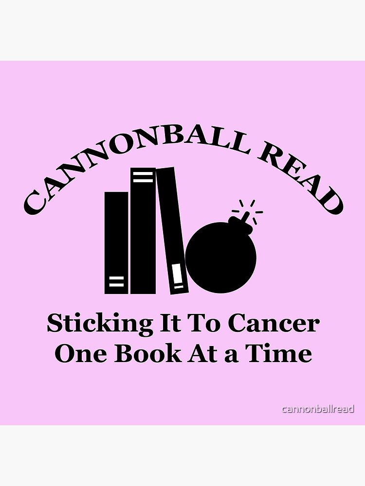 Cannonball Read Logo In Black Tote Bag By Cannonballread Redbubble