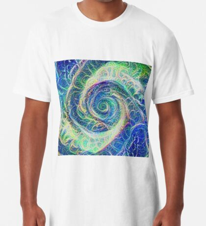 Vortex dragon #DeepDream B Long T-Shirt