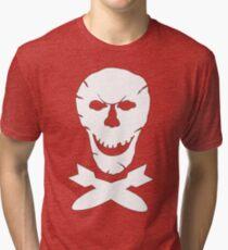 B-24 Jolly Roger Squadron Emblem Tri-blend T-Shirt