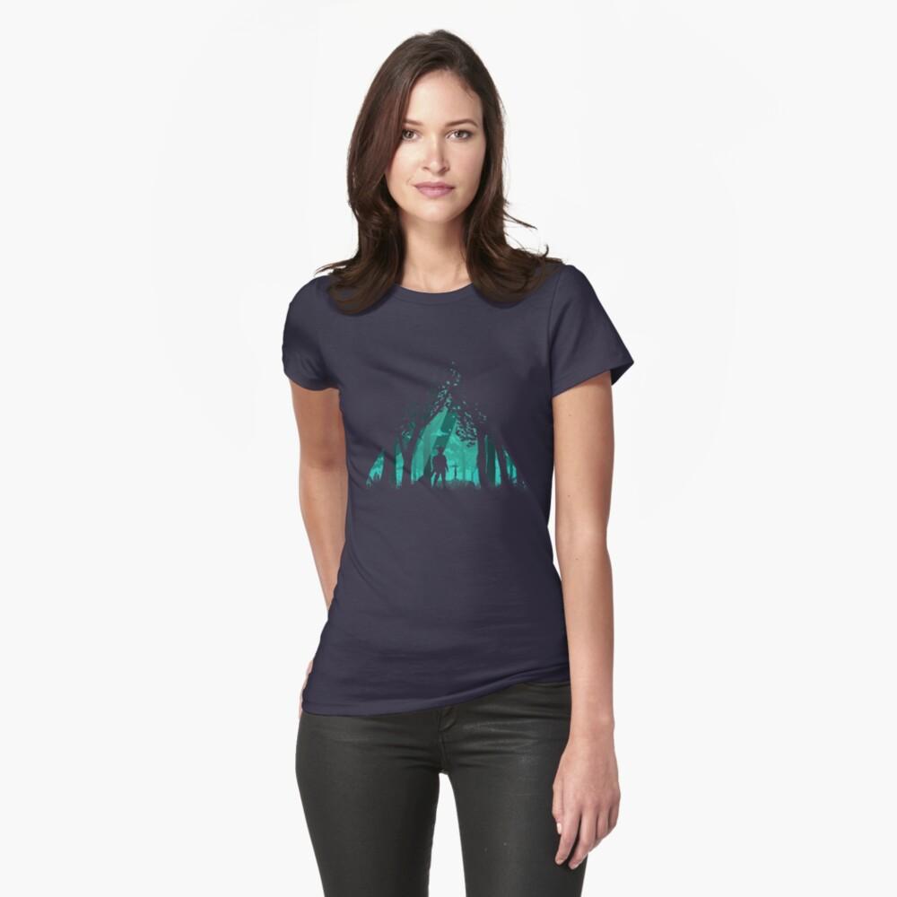 Es ist gefährlich alleine zu gehen Tailliertes T-Shirt