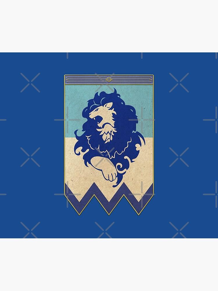 Blue Lions by Retro-Freak
