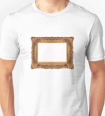 Baroque Golden Frame Unisex T-Shirt