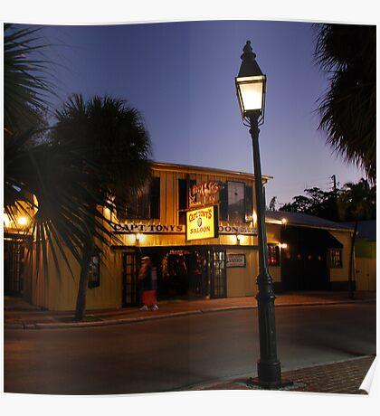 Captain Tony 's Saloon in Key West, FL Poster