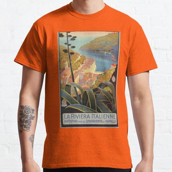 Vintage Italian Riviera Travel Portofino Classic T-Shirt