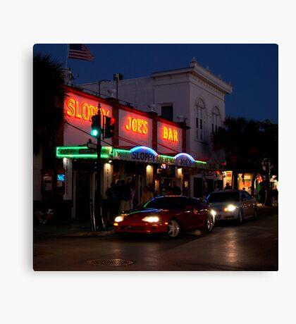 Sloppy Joe's Bar in Key West, FL Canvas Print