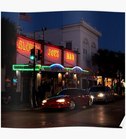 Sloppy Joe's Bar in Key West, FL Poster