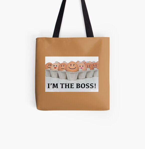 I'M THE BOSS! All Over Print Tote Bag