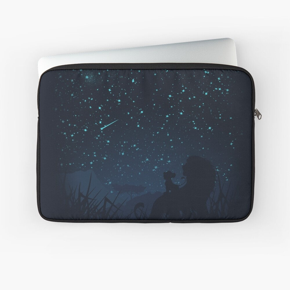 Under The Stars Laptop Sleeve Front